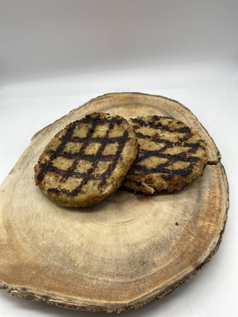 Organic Homemade Turkey Patty