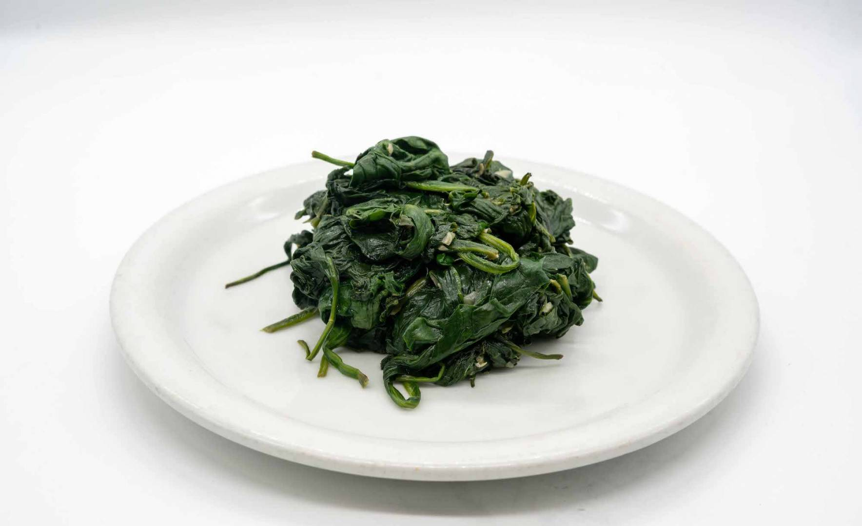 Organic Steamed Spinach
