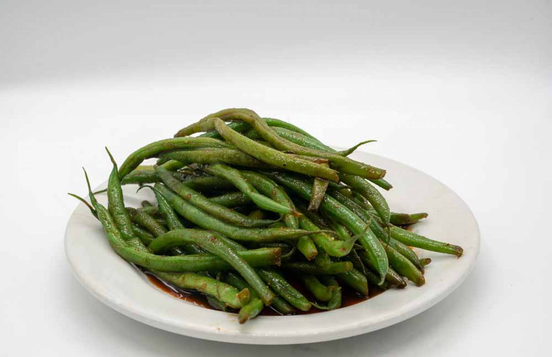 Organic Roasted Green Beans (1/2 pound)