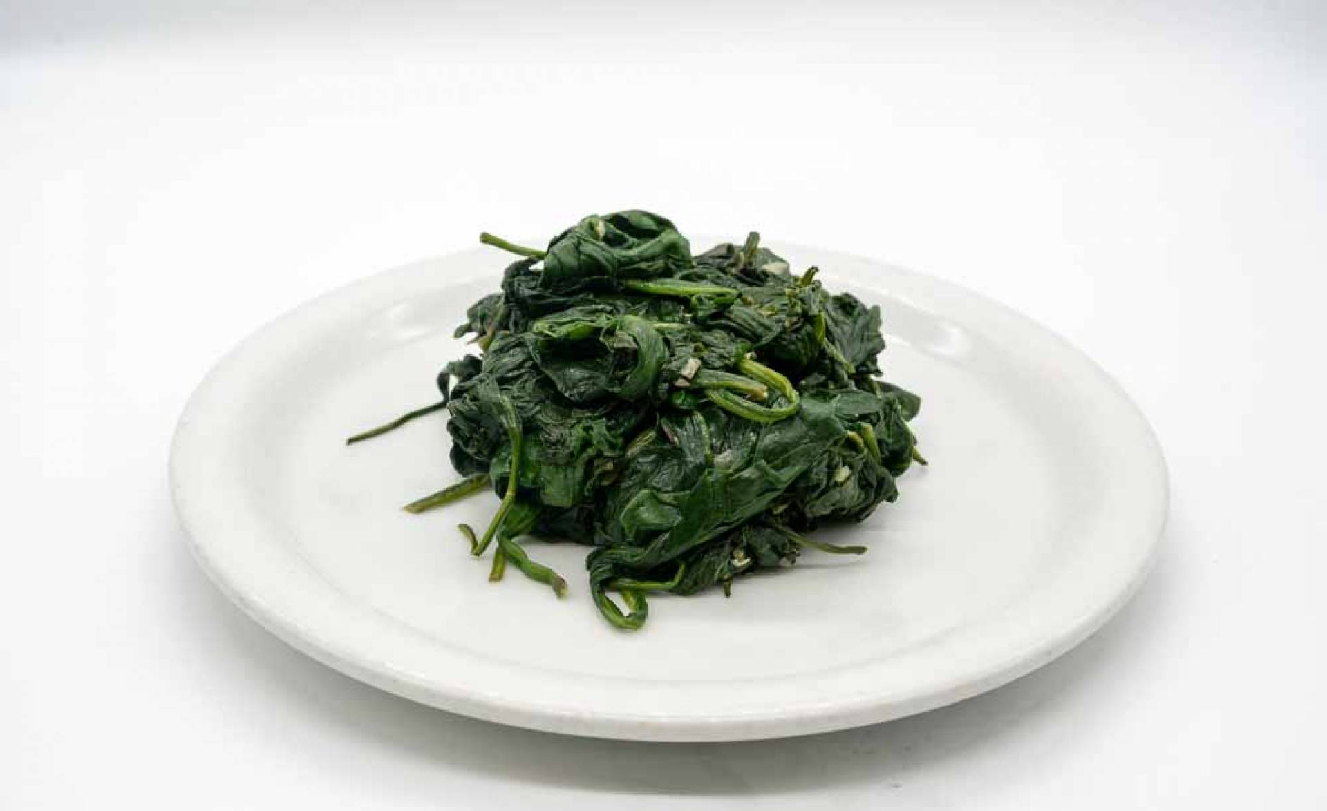 Organic Steamed Spinach (1/2 pound)